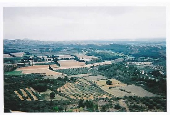 Panorama of Les Baux