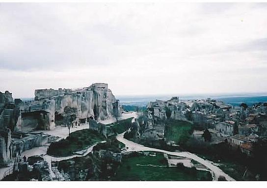 Ruins of Les Baux