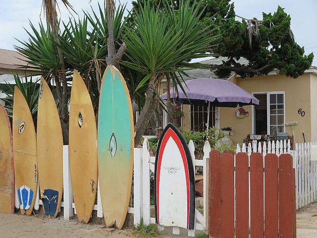 Surf Board Fence