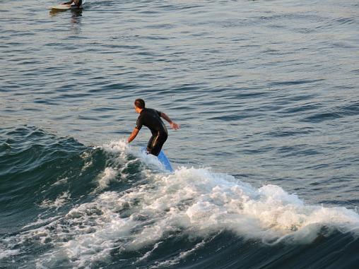 Surfers at Ocean Beach
